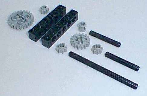 Lego Analog Clock Building Instructions