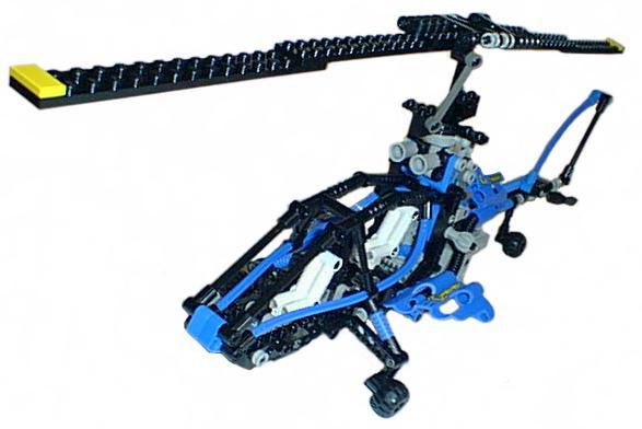 Gobots Cop-Tur rotor principal et Rotor de Queue de Remplacement Replica Set